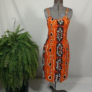Beautiful orange sundress!!